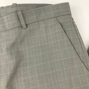 Perry Ellis Gray Slim Fit Mens Slacks 34x32 EUC